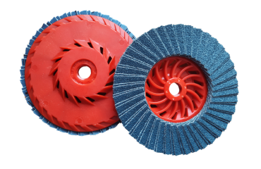 ventilated abrasive flap discs